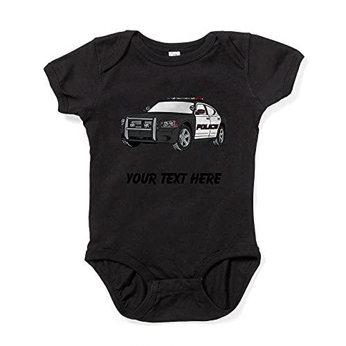 ABADI Body de bebé de policía (personalizado)