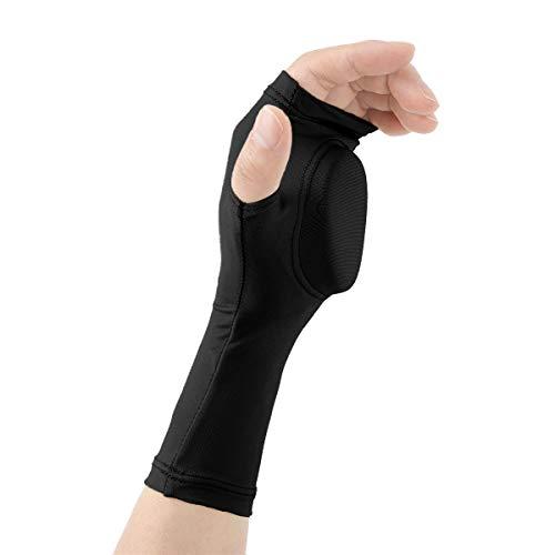 YiZYiF Winter Skihandschuhe für Erwachsene Kinder Eislauf Handschuhe gepolstert Handschutz Sporthandschuhe für Skifahren Snowboard Eislaufen Wandern Schwarz Small