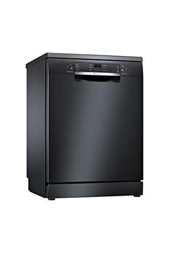 Lave vaisselle Bosch SMS46JB17E - Lave vaisselle 60 cm - Classe A++ / 44 decibels - 13 couverts - Noir bandeau : Noir - Pose libre