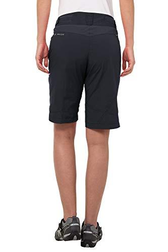 VAUDE Damen Tamaro Shorts Hose, Black, 34 - 4
