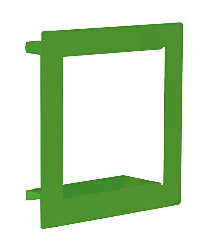 Element System 11338-00001 Wandregal Frame/Regalwürfel/Wandwürfel/grün / 290 x 290 x 90 mm / 3 Größen / 3 Farben