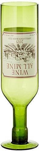 Thumbs Up BBZWINMIN Verre Wine All Mine, Vert, 29 x 7 x 7 cm