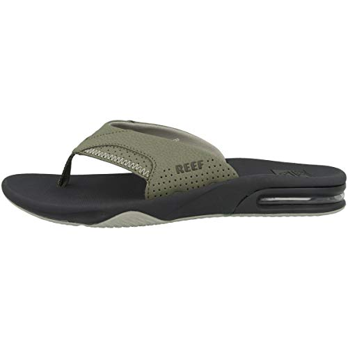 Reef Fanning, Chanclas Hombre, Deep Olive, 45