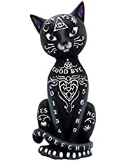 Nemesis Now Mystic Kitty Beeldje 26cm Zwart, Hars
