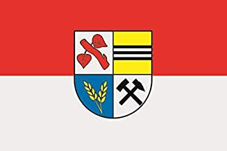 U24 Vaandel vlag Harbke scheepsvlag premium kwaliteit 30 x 45 cm