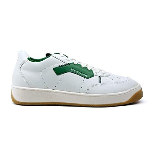 Playground Moa Concept - Sneaker Bianca/Verde Vintage moa - 43
