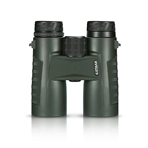 Binoculars for Adults Compact,C-STDAR High Power 10 x 42 Binoculars with BAK4 Prism, FMC Lens,Waterproof & Low Light Night Vision, Perfect for Bird Watching,Travel Hunting Concerts & Football Games.