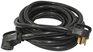 Road Power 65039701 Extra Heavy Duty 6/8 Gauge, 3 prong, 30 ft. STW RV Power Cord, 50 AMP, 6250/12500 Watts, 125/250 Volts, Black (For Use With Mobile Homes, Campgrounds And Other Motor Parks)