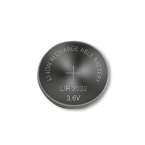 1 botón recargable LIR 2032 45 mAh.