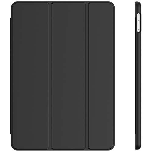JETech Hülle für iPad 8/7 (10,2 Zoll, Modell 2020/2019, 8./7. Generation), Auto Schlafen/Wachen, Schwarz