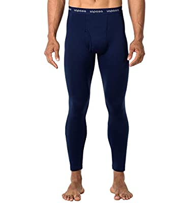 LAPASA Men's Heavyweight Thermal Underwear Pants Fleece Lined Long Johns Leggings Base Layer Bottom M25