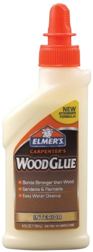 Elmer's Products, Inc E7000 Carpenters Wood Glue4Oz, 4 oz, Multicolor