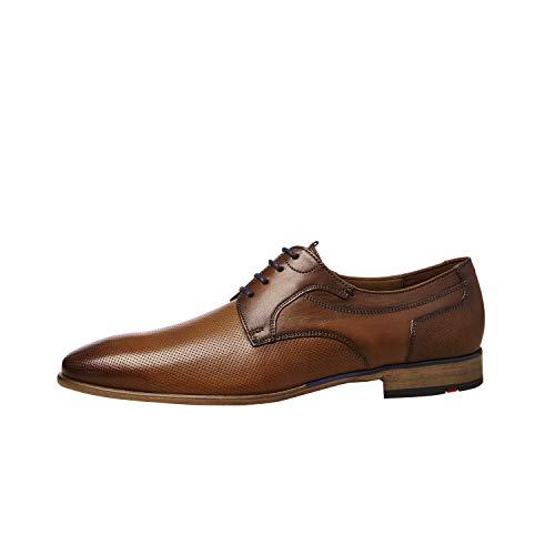 LLOYD Darlington - Zapatos bajos con cordones para hombre, color Marrón, talla 41 EU