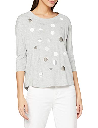 Esprit 110EE1K323 T-Shirt, 044/Light Grey 5, S Femme
