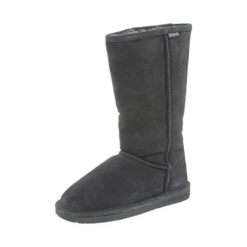 BEARPAW Women's Emma Tall Fashion Boot Charcoal 5