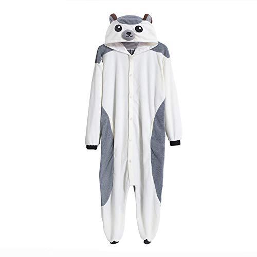 Pijamas de Erizo Onesie para Hombres y Mujeres, Pijamas de Animales Unisex, Pijama de una Pieza para Adultos, Disfraz de Cosplay, Ropa de Dormir, Halloween M
