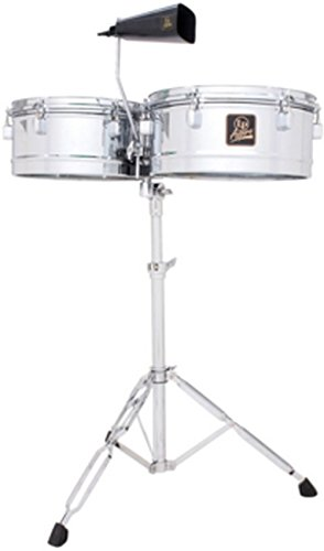 "Latin Percussion LPA256 Aspire Series 13"" & 14"" Timbale Set with Cowbell"