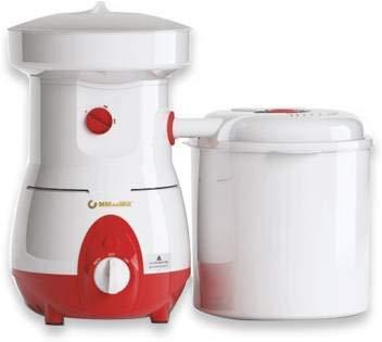 MMAAMILL Fully Automatic Domestic Lesco Flour Mill is only for grains like | Bajar, Jwar, Wheat, Rice, Mung, Soya ... | | Aata Chakki | | Domestic Aata Chakki | | Multi Grain Mill | | 1250 Watt Table Top Flour Mill | (Red)