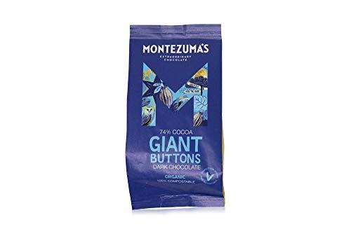 Montezumas Chocolate Organic Giant Buttons Bags (Dark Buttons) (4 x 180g)
