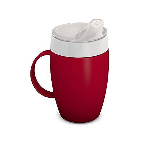 Ornamin 905 / 806 Becher mit Trink-Trick 200 ml mit Schnabelaufsatz (rot)