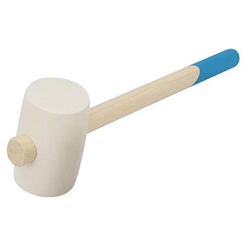 Handmatige Rubber Hammer Tool met Hout Handvat Vier Type Optie voor Installatie Werken Tegel Decoratie(12oz)