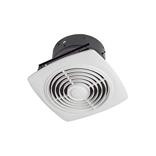 Broan-NuTone 505 Exhaust Fan, White Vertical Discharge Ceiling Ventilation Fan, 8.5 Sones, 200 CFM, 8""