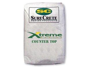 GlobMarble Concrete Countertop Mix. Precast Concrete. Pourable Countertop Mix. White 50 lb.