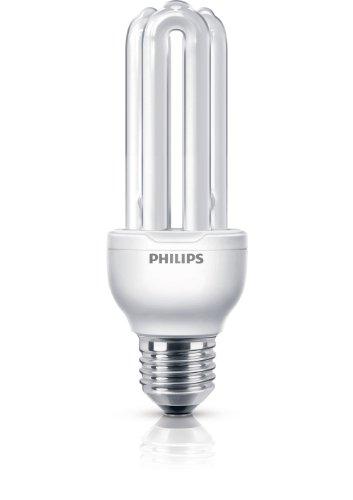 Philips Ampoule économie d'énergie Tube Lampe (Stick E27 Blanc à Lumière froide 5-40)