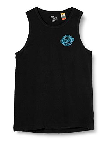 s.Oliver Herren 130.10.004.12.130.2025936 T-Shirt, 9999 Grey/Black, S