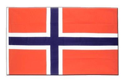 Norwegen Flagge, norwegische Fahne 90 x 150 cm, MaxFlags®