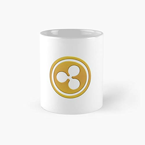 Ripple Cryptocurrency Xrp Classic Mug - 11 Ounce For Coffee, Tea, Chocolate Or Latte.