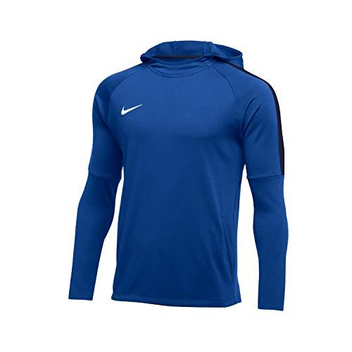 Nike Herren Academy18 Hoodie Kapuzensweatshirt, Blau (royal blue/Obsidian/White/463), Gr. L