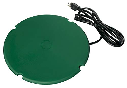 Farm Innovators Model PS-200 Pond De-Icer Heated Saucer, 200-Watt