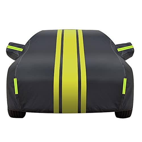Wetterfeste Auto-Abdeckung Schutz Vollabdeckungen Autoplane Kompatibel mit Opel/Adam Astra Astra GTC Corsa Cascada Viva Hagelsichere Autoabdeckung Autoschutzhülle Auto Abdeckung(Color:1,Size:Adam)