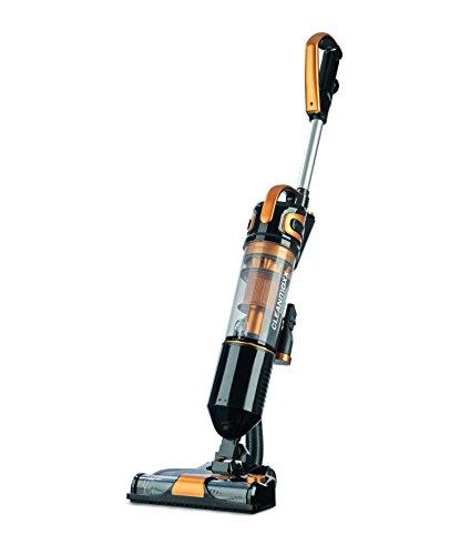 CLEANmaxx 07517 Akku-Zyklon-Bürstsauger 14,8V ( Beutellose Zyklon-Technologie, Elektrisch Rotierender Turbobürste, HEPA-Filtersystem, Akku-Handstaubsauger )