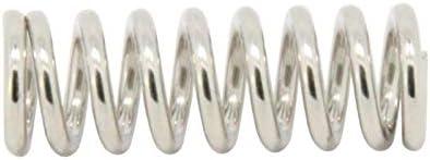 WYS-DAOLUOGAN, 10/20/30 Pcs 3D Printer Accessory Feeder Spring for Extruder Nickel Plating 1.2mm 20 Mm Spring (Size : 10pcs)