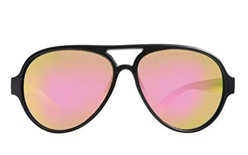 Rheos Palmettos Aviator Floating Polarized Sunglasses | 100% UV Protection | Floatable Shades | Ideal for Fishing and Boating | Anti-Glare | Unisex | Gunmetal | Rose