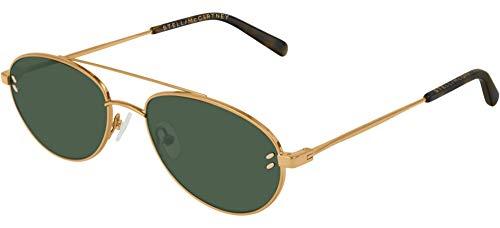 Stella McCartney occhiale da sole SC0180S 001 Oro verde taglia 54 mm Unisex