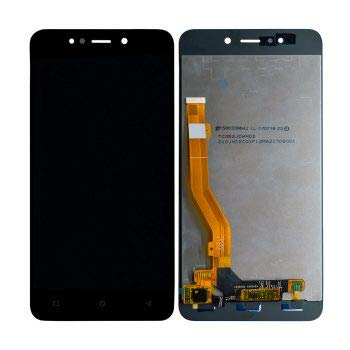 YUVKUZ Display Screen for Gionee X1S X-1S with Touch Combo Folder Full Assembly Digitizer Glass Replacement, Black