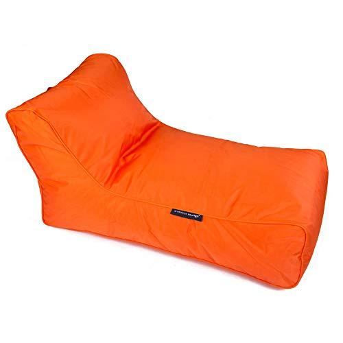 Ambient Lounge Studio Lounger Designer-Sitzsack mit Füllung Outdoor-Stoff: Manderina