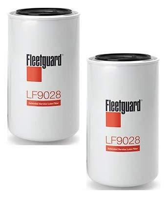 LF9028 Fleetguard Lube Filter (Pack of 2)