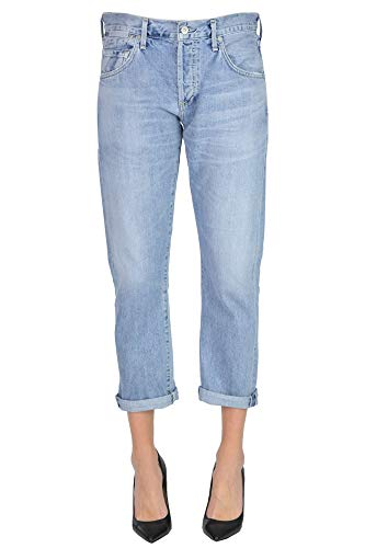 Citizen of Humanity Emerson Crop Slim Fit Boyfriend Jeans Woman Light Denim 29 Jeans