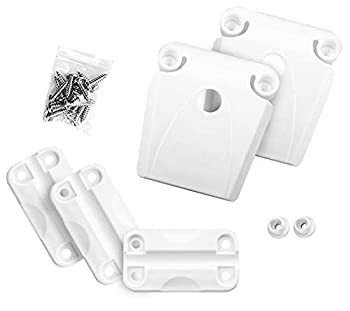 Cooler Hinge and Latch Set High Strength Cooler Latch Replacement Parts.