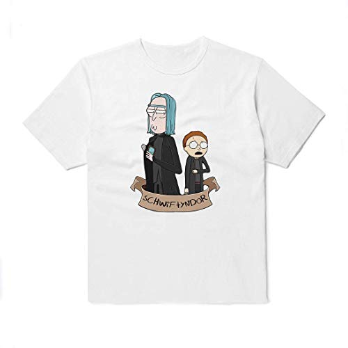 R and M Wubba Lubba Dub Dub T-Shirt Unisex Like Harry and Professor Outfit Black White Colored Clothing Cotton Shirt Present For Women Men Kids Cute Gift UT1010