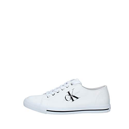 Calvin Klein Scarpe Uomo Art B4S0670 White Colore Foto Misura A Scelta Bianco 45