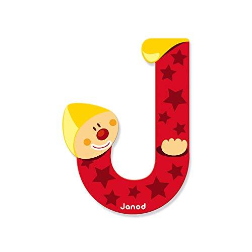 Janod 4504551 - Buchstaben Clown J
