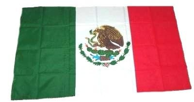 Fahne Stockflagge Mexiko / Mexico 30 x 45 cm Flagge