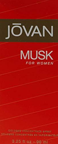 Jovan Musk Woman 96 ml Vapo Concentree, 1er Pack (1 x 96 ml)