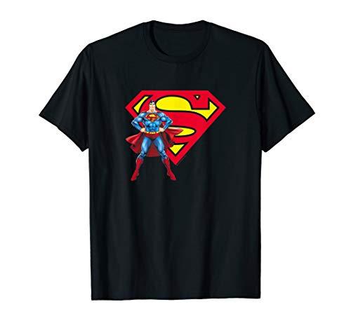 Superman Superman & Logo T Shirt