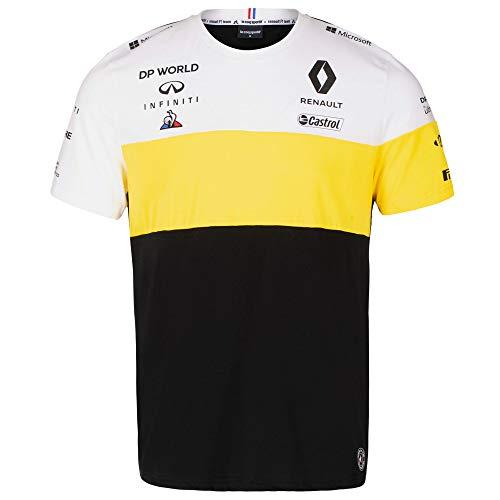 Renault F1 Team 2020 T-Shirts & Poloshirts, offizielles Formel 1 Merchandise, Schwarzes Team T-Shirt, Womens (M) UK Size 14 Chest 35 inch